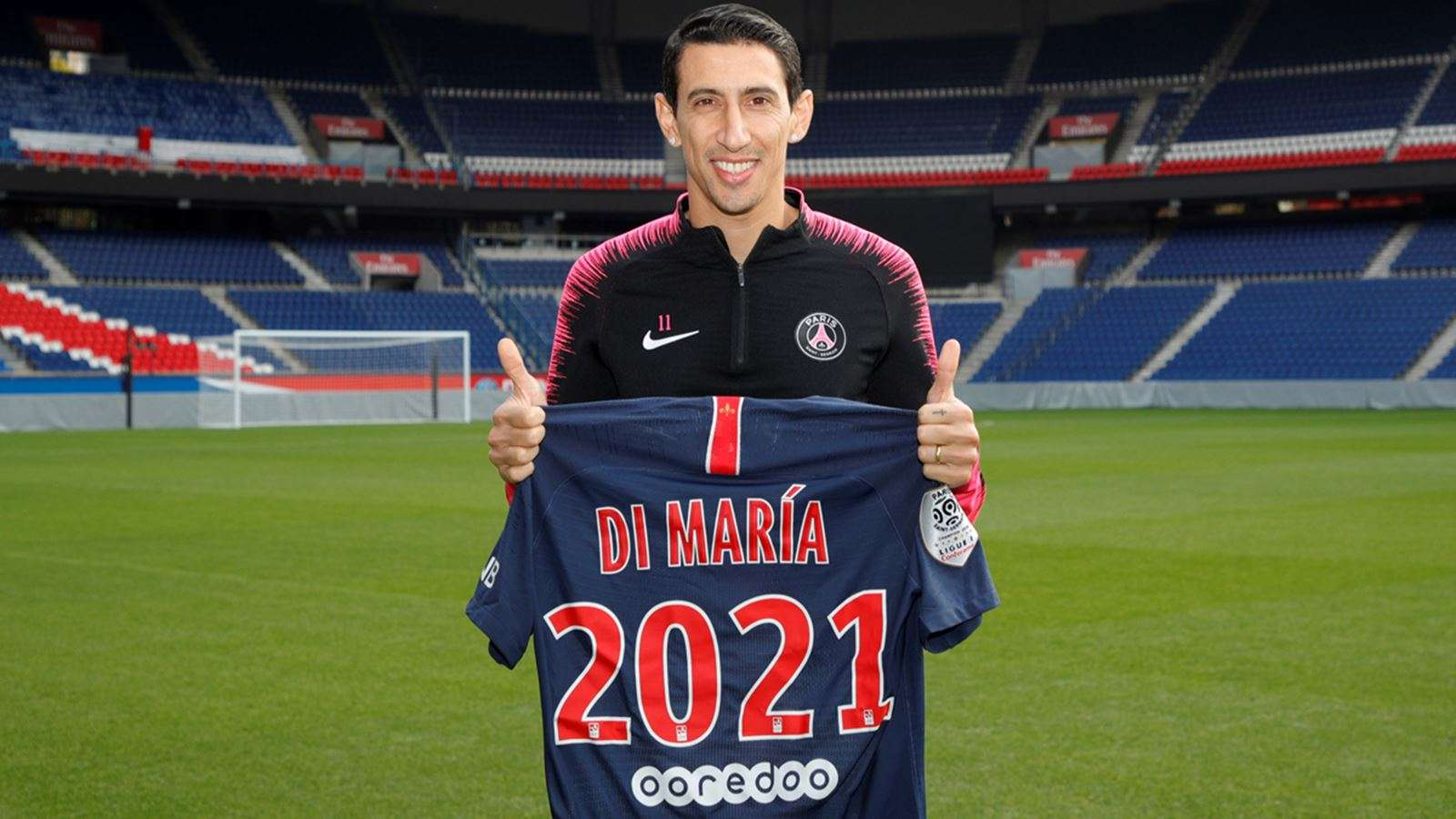 Officiel Angel Di Maria Prolonge Transfert Foot Mercato
