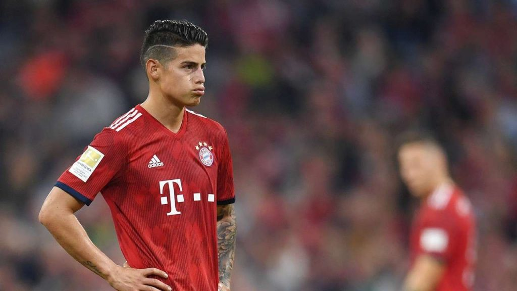 Le Bayern évoque le cas James