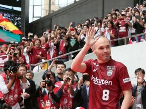 Mercato : Andres Iniesta recale une nouvelle formation