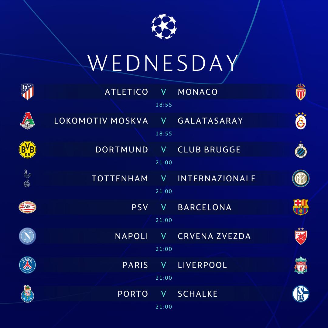 Ligue des Champions : les trois affiches du jour !
