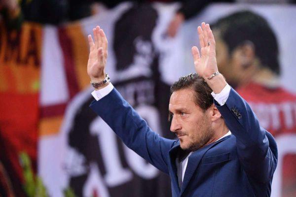 Francesco Totti honoré