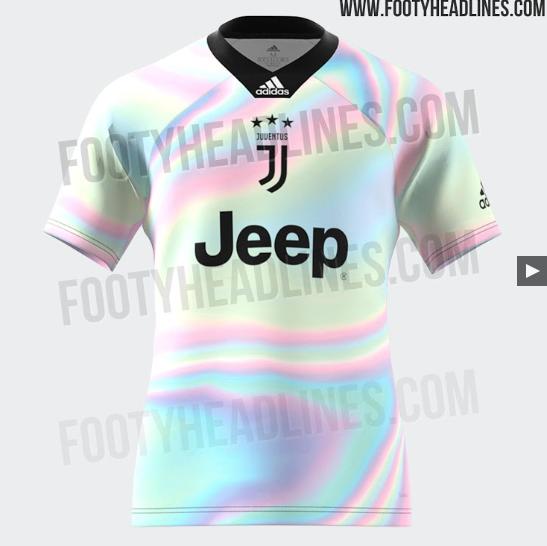 Un nouveau maillot pour le Real, le Bayern, la Juve et Manchester United