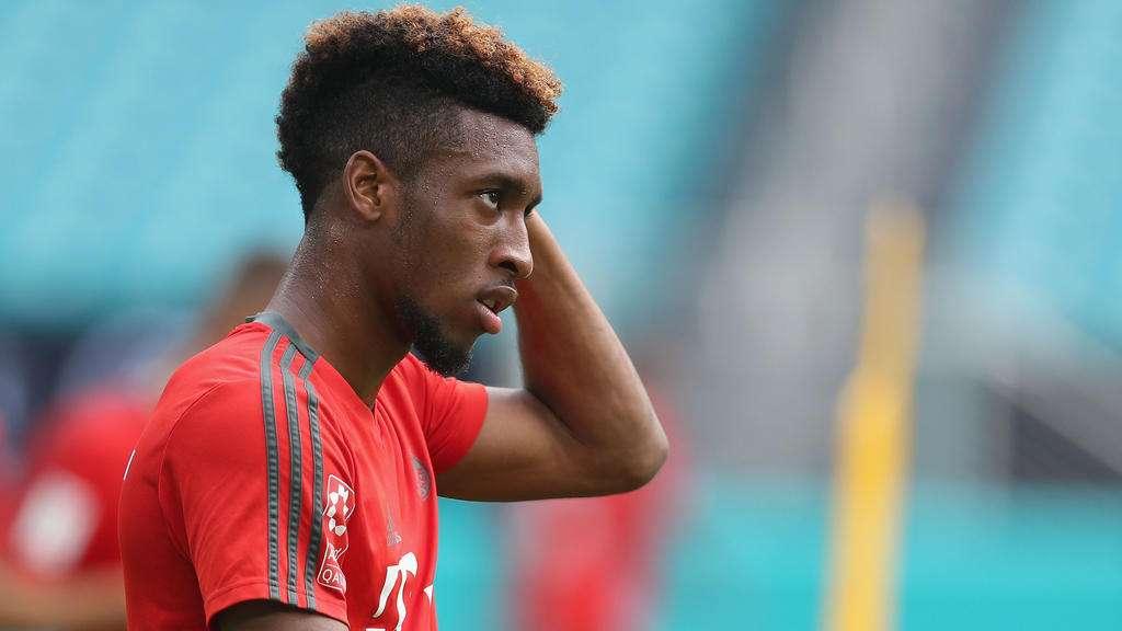 "Kingsley Coman évoque un Bayern ""un peu vieillissant"""