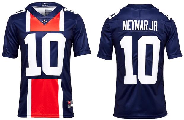 Le maillot du PSG en mode NFL !