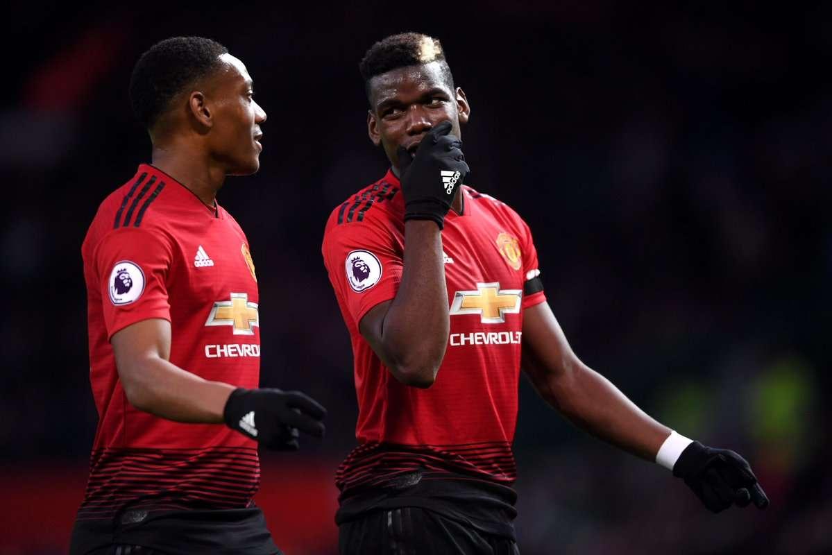 Man Utd : Solskjaer donne des nouvelles de Martial et Pogba