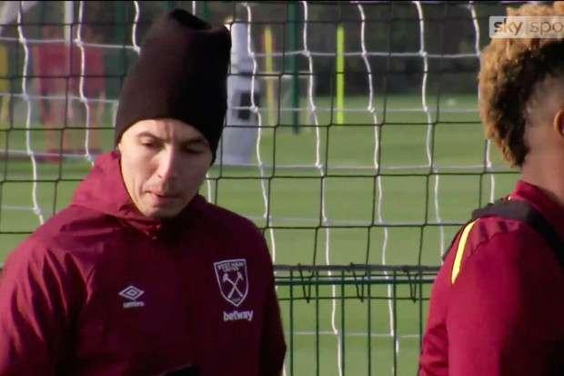 West Ham : Cinq kilos de trop pour Samir Nasri