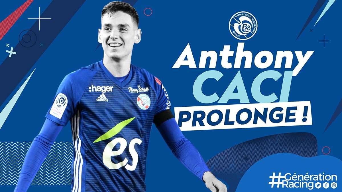Officiel : Anthony Caci prolonge