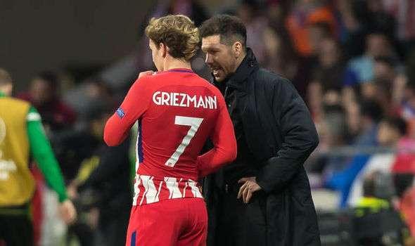 Atletico Madrid : Le duo Simeone-Griezmann courtisé en Angleterre