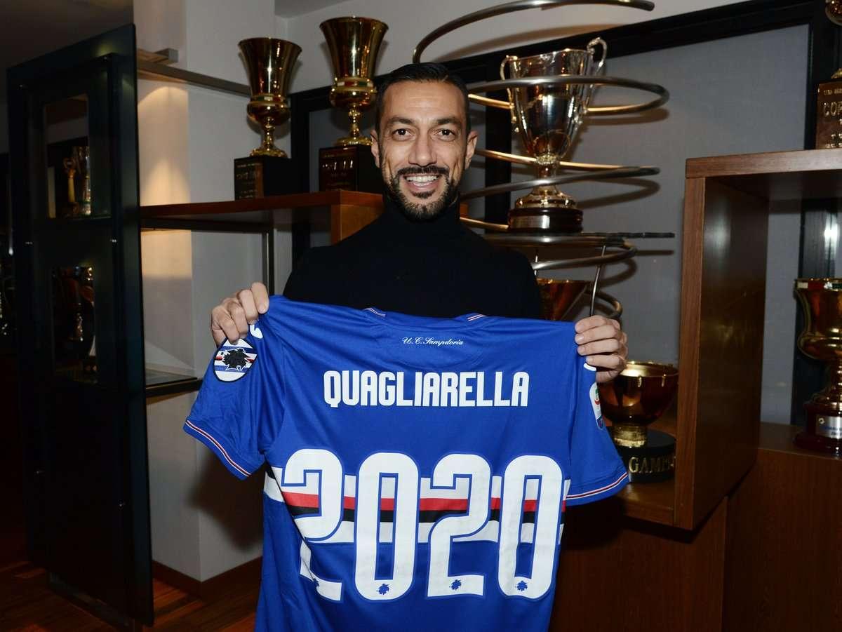 Officiel : Quagliarella prolonge avec la Samp'