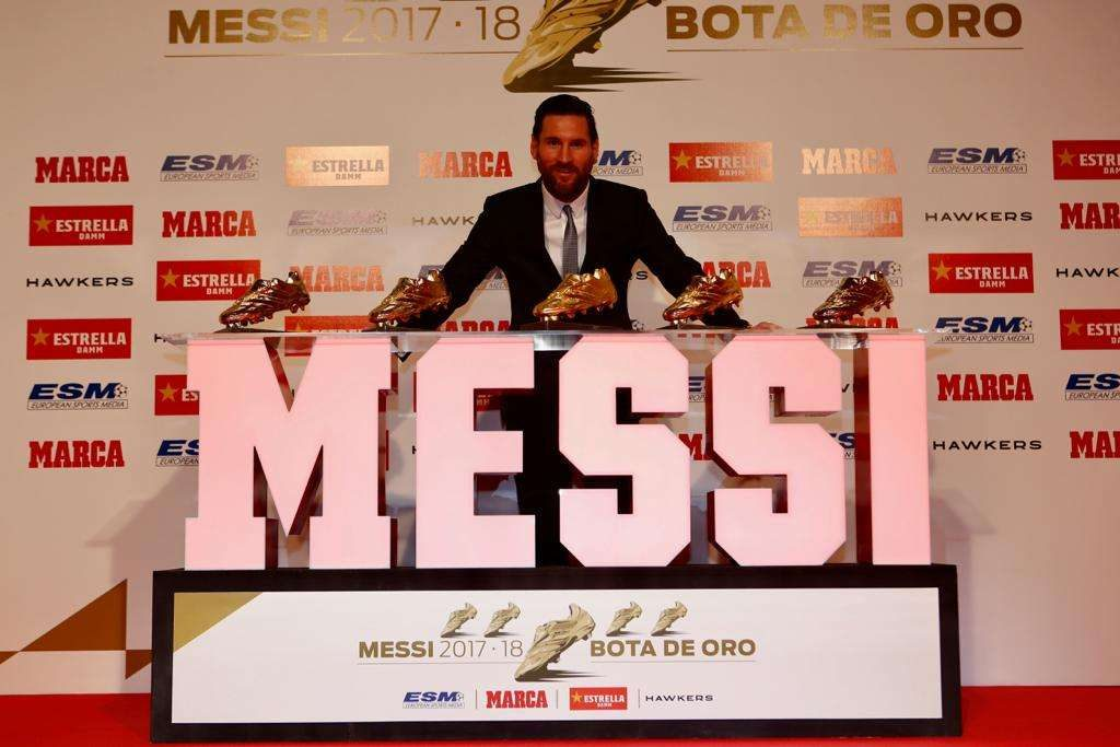 Lyon, Soulier d'Or : les réactions de Lionel Messi