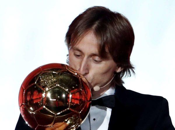 Ballon d'Or : Luka Modric donne ses quatre favoris