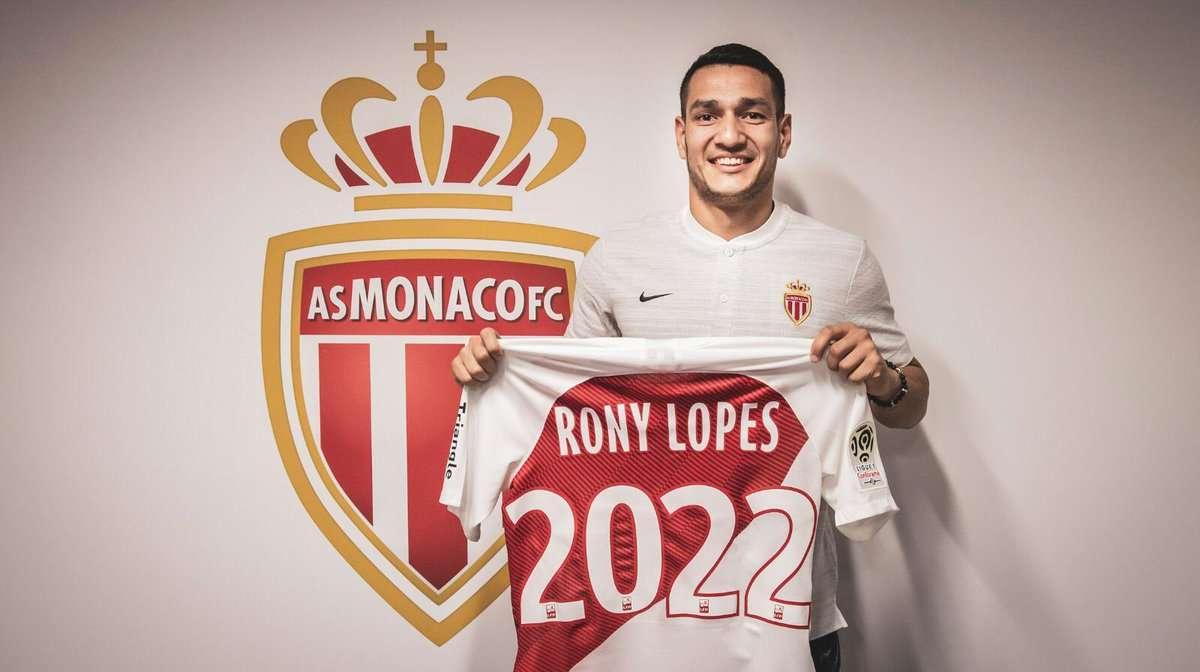 Officiel : Rony Lopes prolonge à Monaco