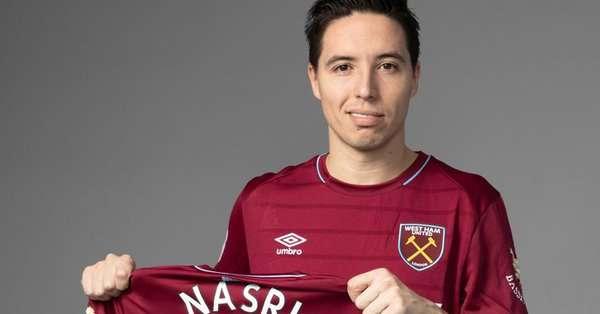 Officiel : Samir Nasri signe à West Ham