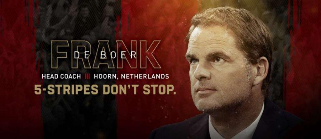 Officiel : De Boer rejoint la MLS