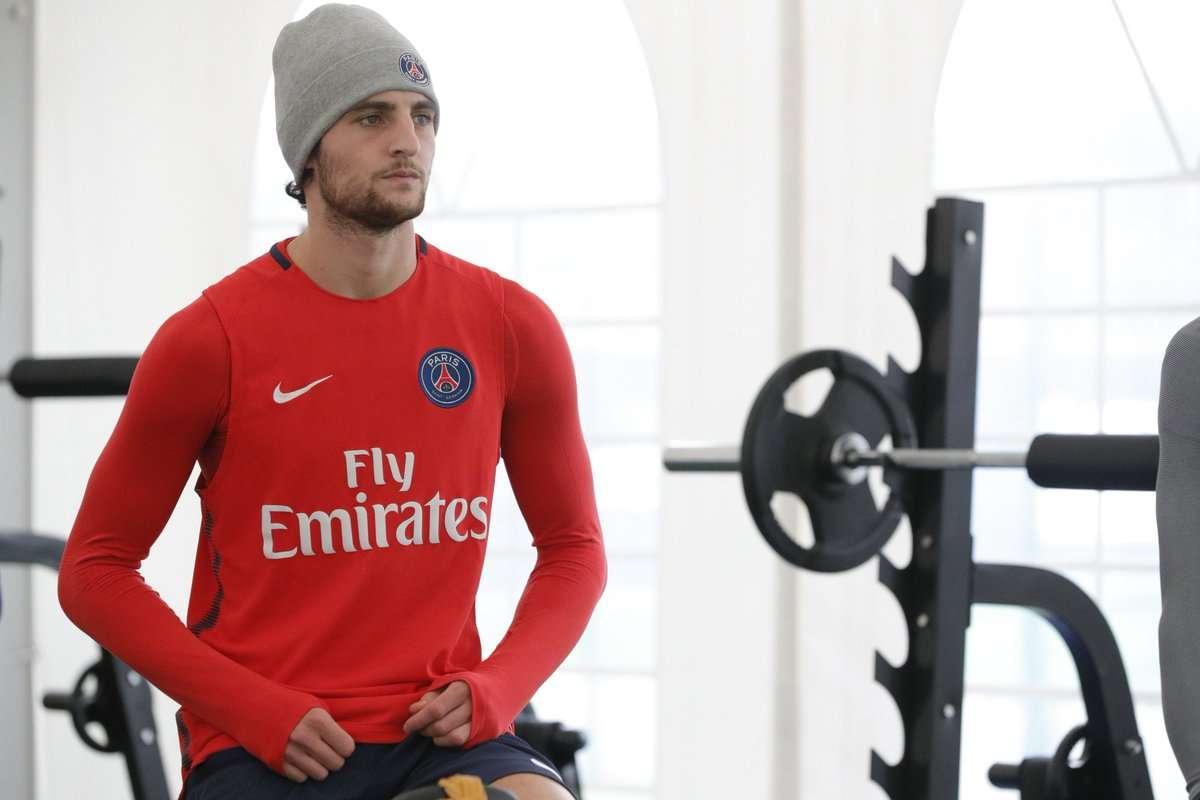 PSG : retour à l'entraînement pour Rabiot