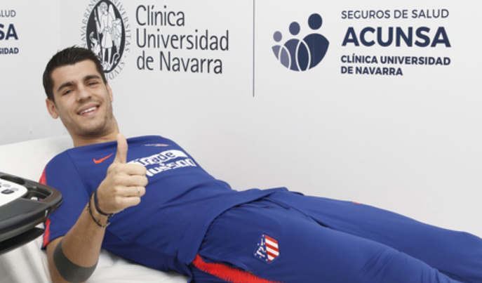 Officiel : Alvaro Morata rejoint l'Atlético Madrid !