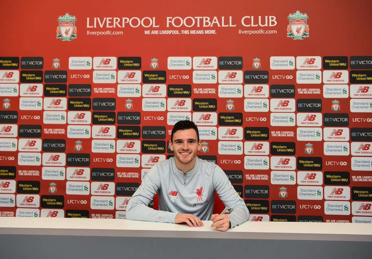 Officiel : Liverpool blinde Robertson