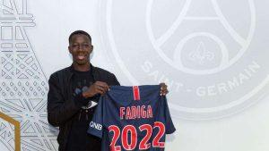 Officiel : premier contrat pro pour Fadiga avec le PSG