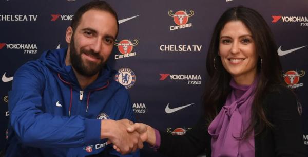Chelsea officialise cinq départs dont celui de Gonzalo Higuain !