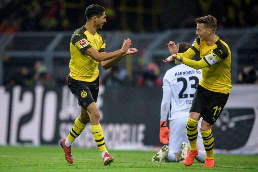 Dortmund aura du mal à conserver Hakimi