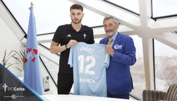 Officiel : Hoedt signe au Celta Vigo
