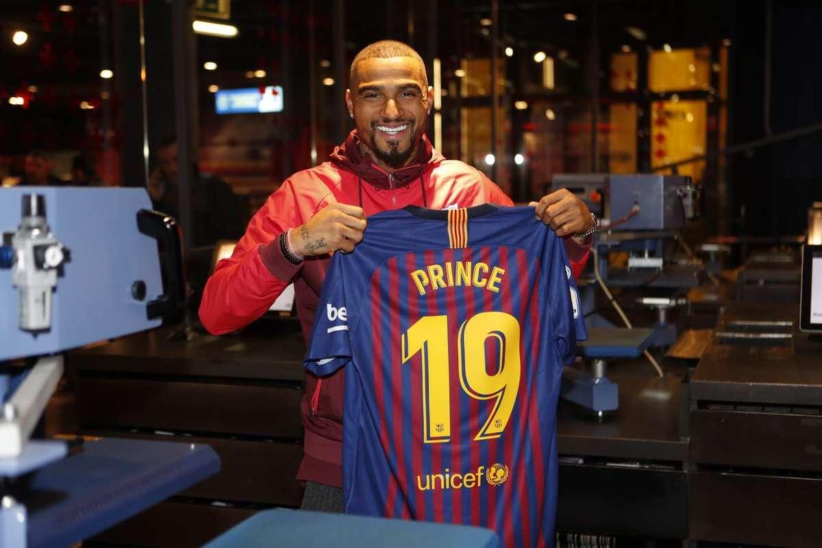 Le onze du Barça contre le FC Séville avec Prince Boateng !