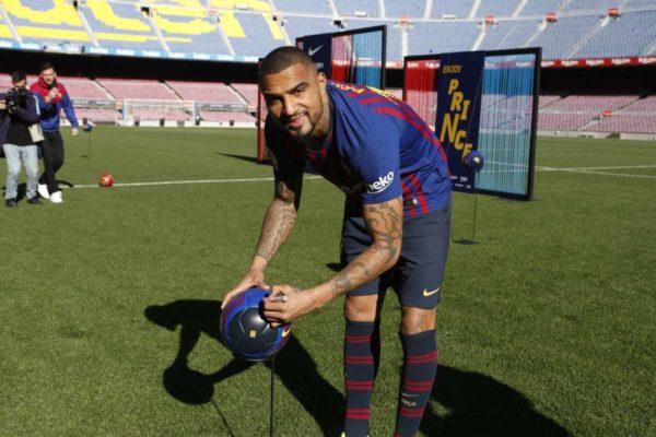 Kevin-Prince Boateng annonce son départ du FC Barcelone