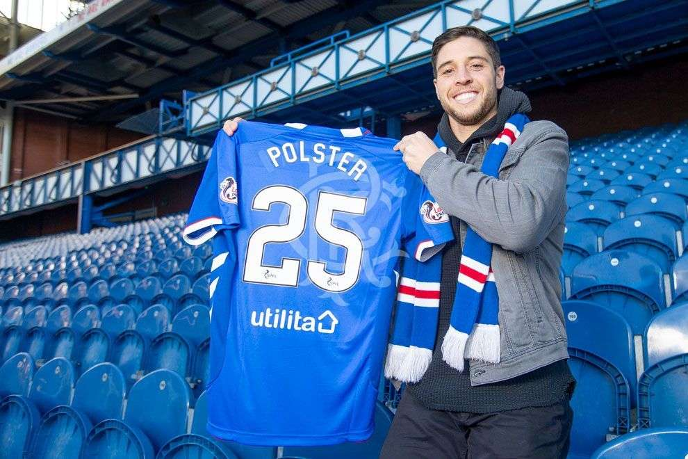 Officiel : Polster aux Glasgow Rangers