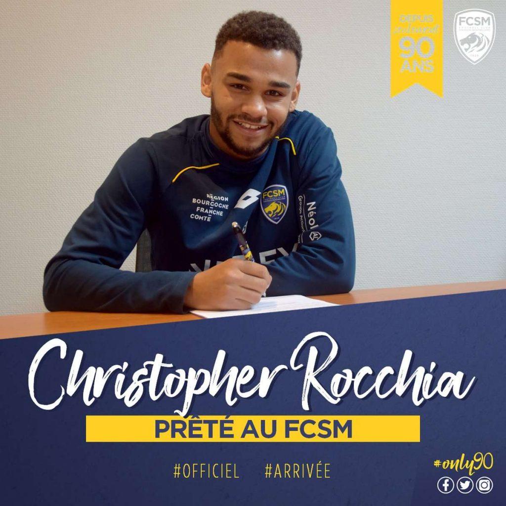 Officiel : Rocchia prêté à Sochaux
