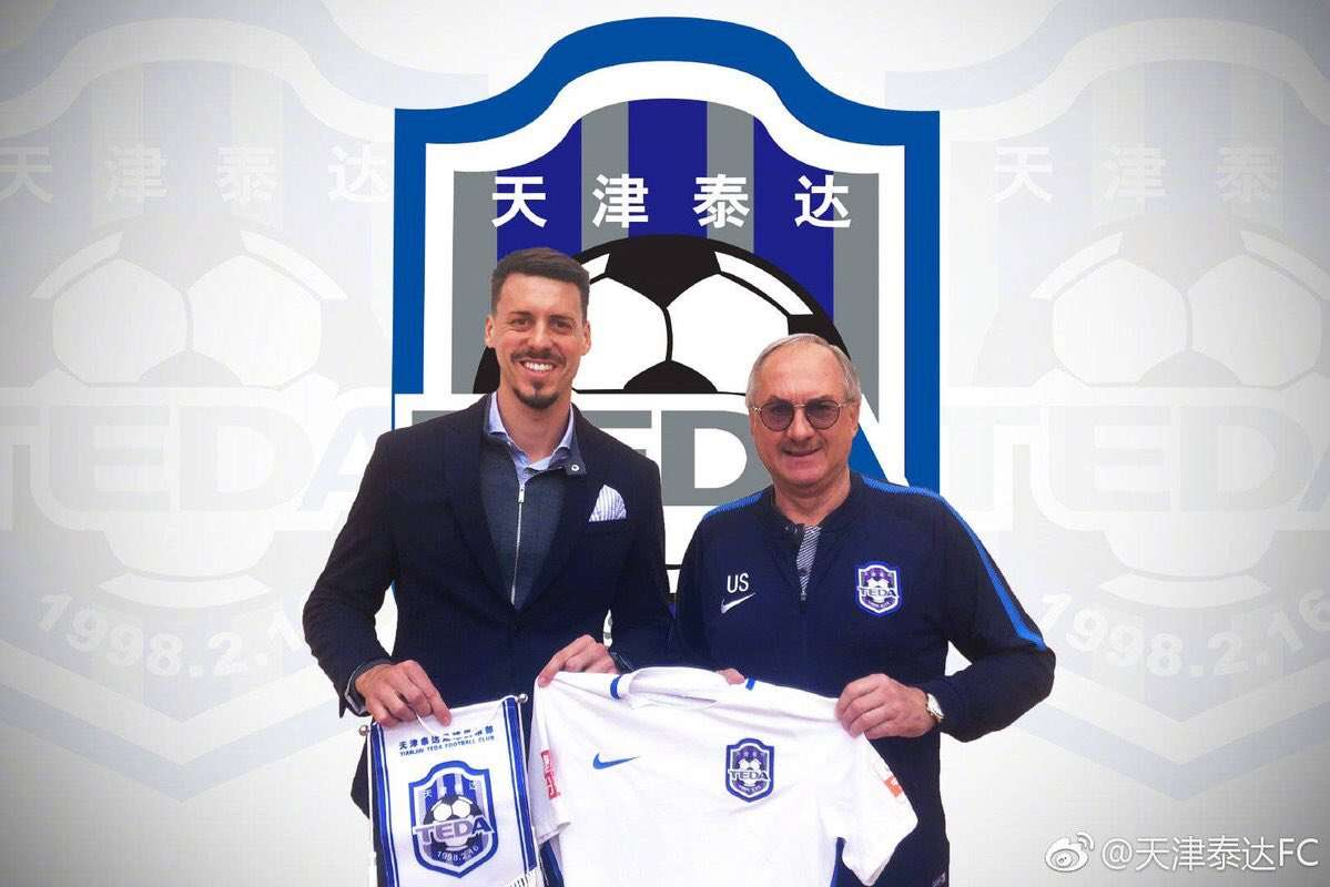 Officiel : Sandro Wagner rallie la Chine