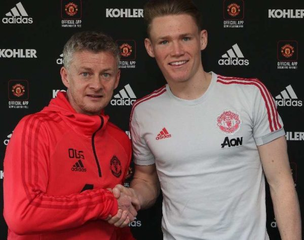 Officiel : McTominay prolonge à Manchester United