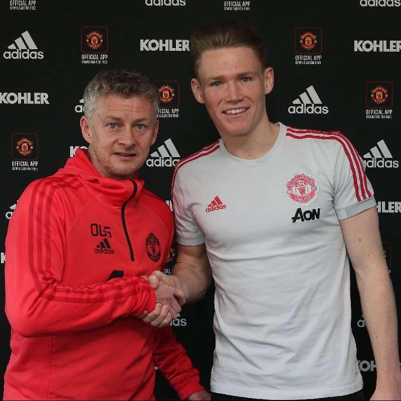 Officiel : McTominay prolonge à Manchester United