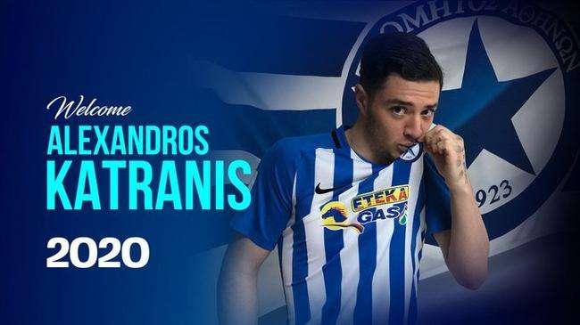 Officiel : Katranis retourne en Grèce