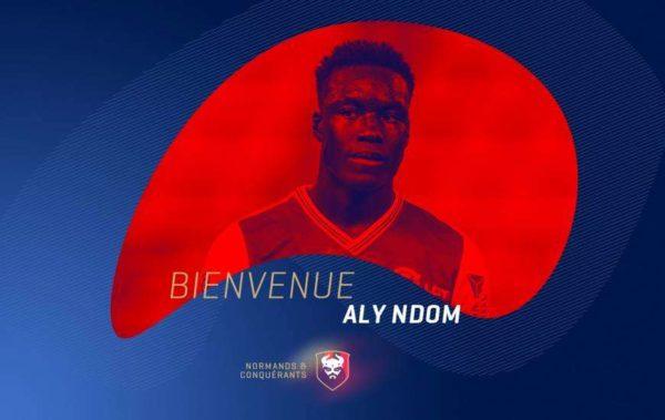 Officiel : Ndom signe à Caen, Peeters s'en va !