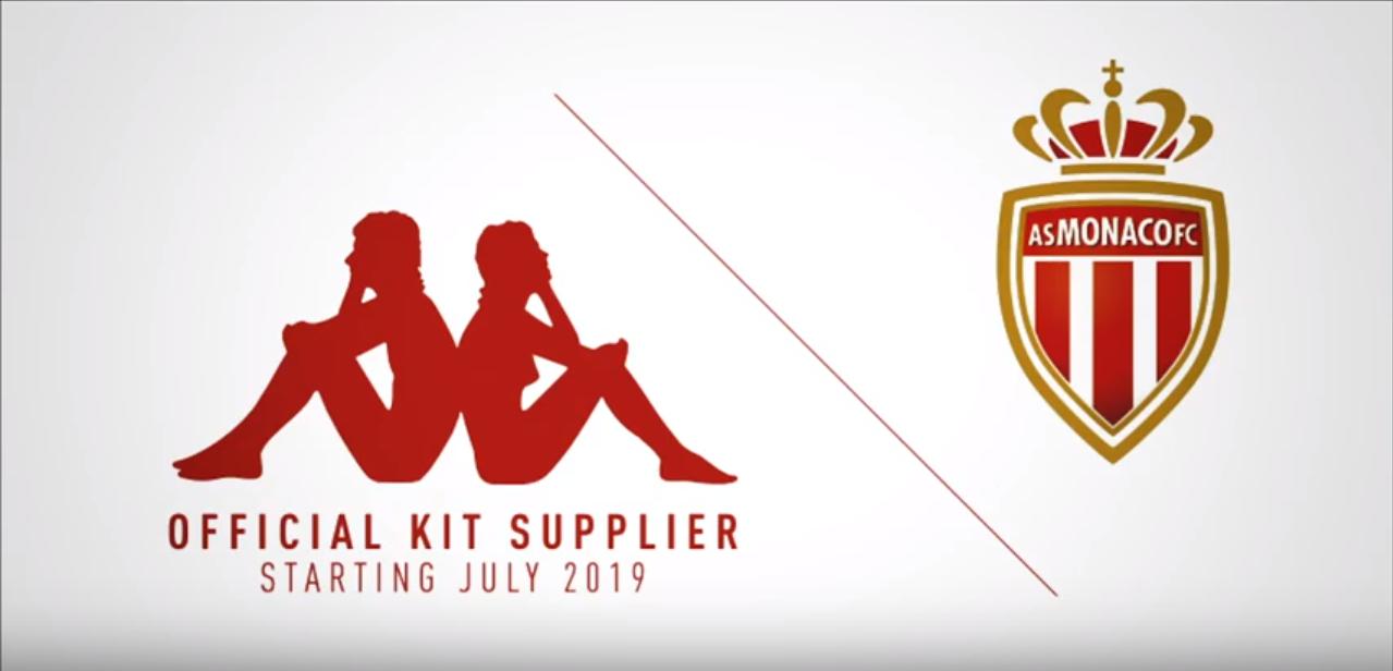 Kappa futur sponsor de l'AS Monaco !