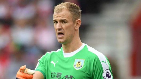 Burnley : Joe Hart a une touche en MLS