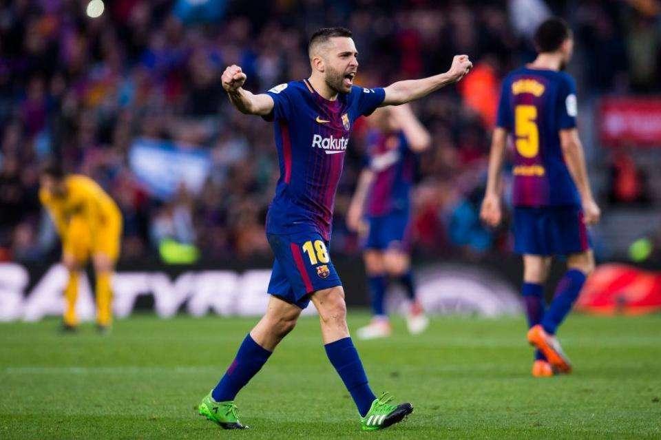 FC Barcelone : Jordi Alba jusqu'en 2024