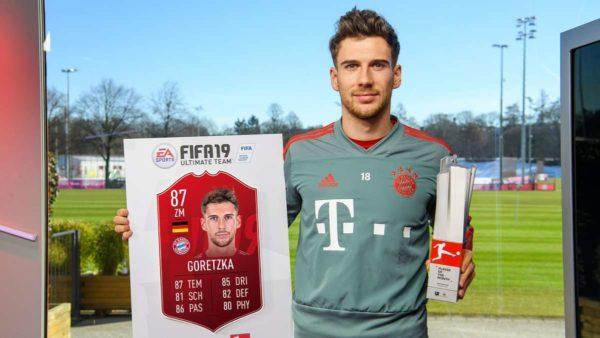 Bundesliga : Leon Goretzka élu joueur du mois !