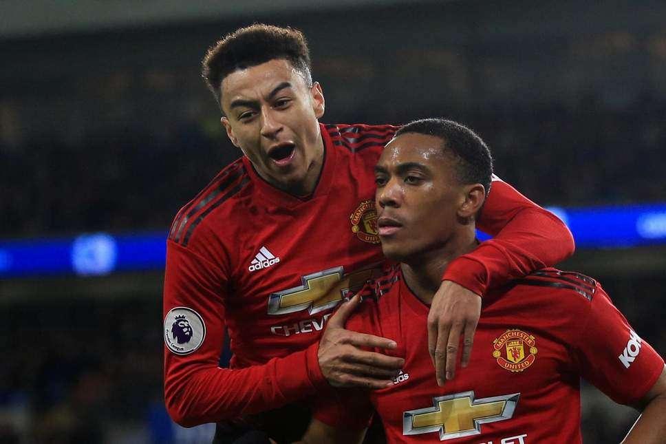 Martial et Lingard pourraient manquer le match retour face au PSG