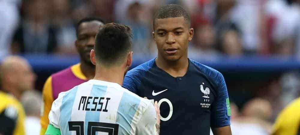 Marcelo compare Mbappé et Messi