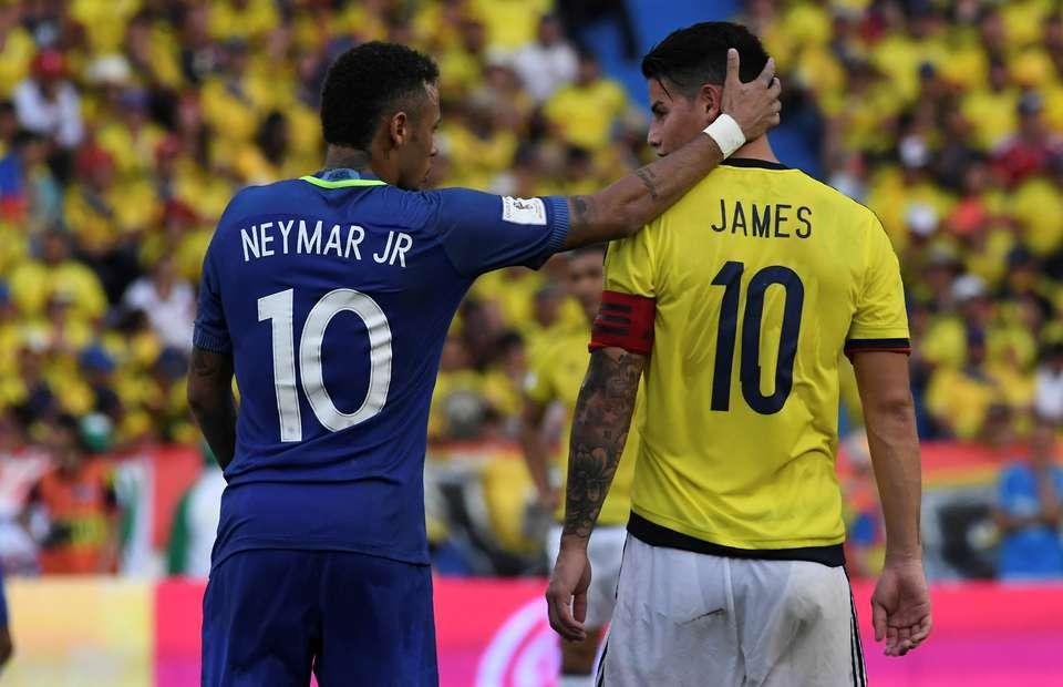 Real Madrid : une somme d'argent plus James Rodriguez pour Neymar ?