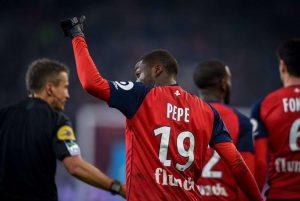 Lille : Nicolas Pépé dans le viseur des Reds Devils !