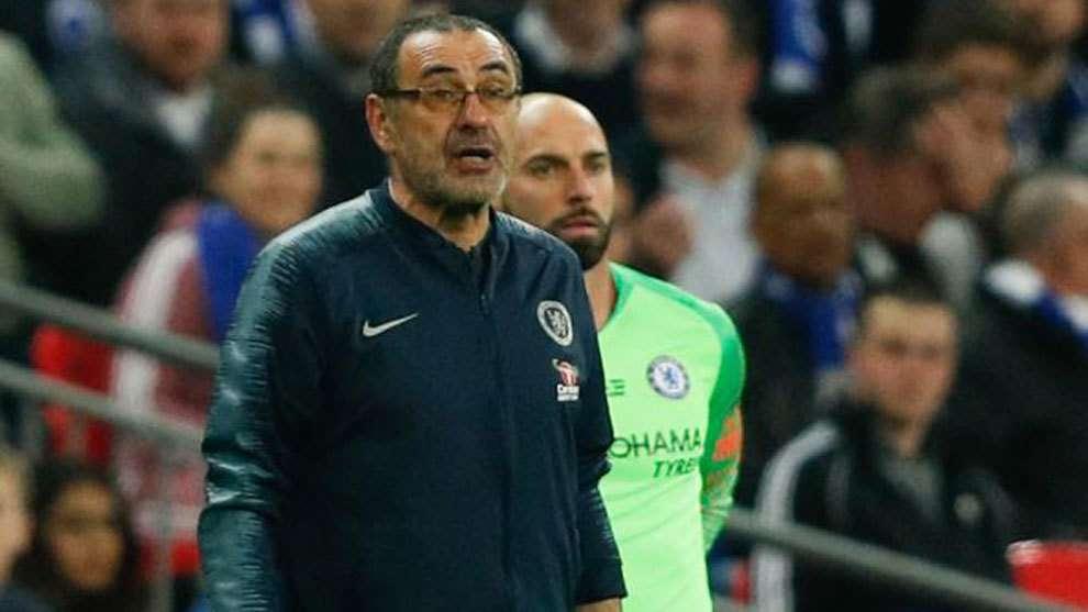 Chelsea : l'affaire Kepa-Sarri fait jaser en Angleterre