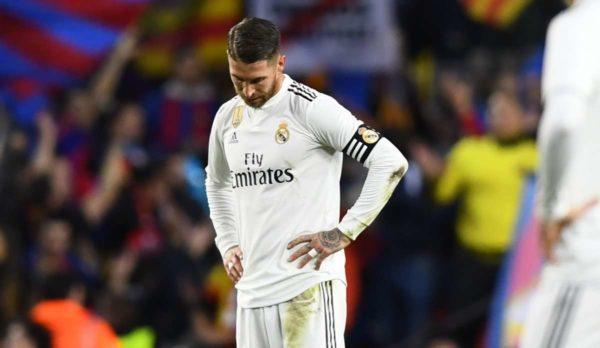 Clasico : la rage de Sergio Ramos
