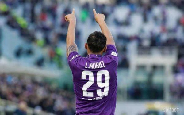 Luis Muriel devrait rester à la Fiorentina