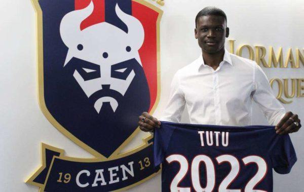 Officiel : Tutu signe un premier contrat avec Caen