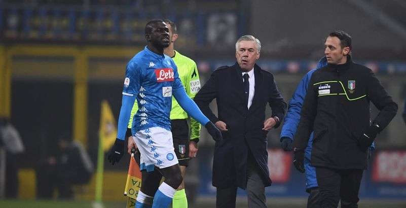 Ancelotti remonté contre les supporters italiens