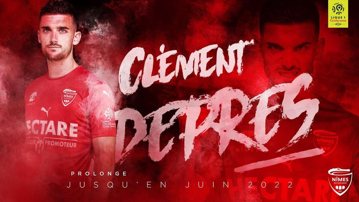 Nîmes : C'est officiel pour Clément Depres