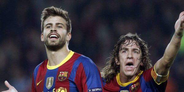 """Puyol : """"Piqué, le meilleur défenseur central du monde"""""""