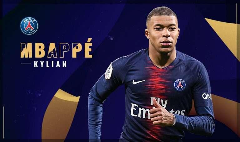 Ligue 1 : Kylian Mbappé élu joueur du mois !